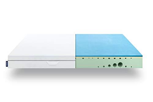 EMMA One Matratze - 140x200 cm, Liegegefühl Medium - 7 Zonen Matratze Visco-Schaum - atmungsaktiv - 100 Nächte Probeschlafen - Öko-Tex Zertifiziert - Entwickelt in Deutschland