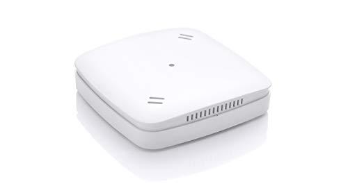 Eurotronic Luftgütesensor Z-Wave Plus, Sensor für optimale Luftqualität, Luftsensor mit Lüftungs-Empfehlung, VOC- & CO2-Wert / Temperatur / Luftfeuchte, Smart Home Zubehör