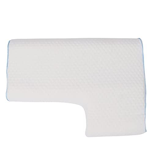 Sonew Paarkissen, Paarschlafkissen Atmungsaktives Memory Foam Kissen Anti-Hand Druckschwammkissen Zur Linderung von Nackenschmerzen(Left Hand)