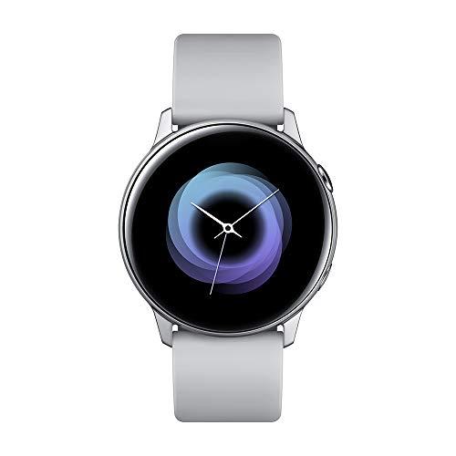 Samsung Galaxy Watch Active Smartwatch Silber SAMOLED 2.79cm (1.1') GPS (Satellite) Galaxy Watch Active, 2.79cm (1.1'), SAMOLED, Touchscreen, GPS (Satellit), 25g Silber