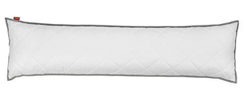 liebling Seitenschläferkissen mit atmungsaktivem Top Cool Mikrofaser Gewebe 40 x 145 cm, weiß