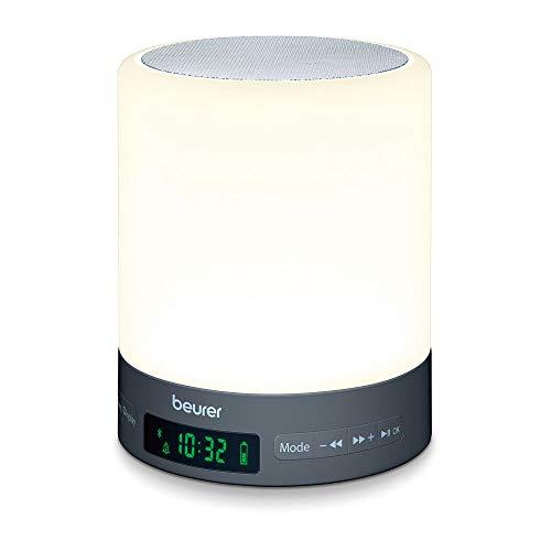 Beurer WL 50 Lichtwecker mit LED-Stimmungslicht, Simulation von Sonnenauf- und untergang, unterstützt den Schlafrhythmus*