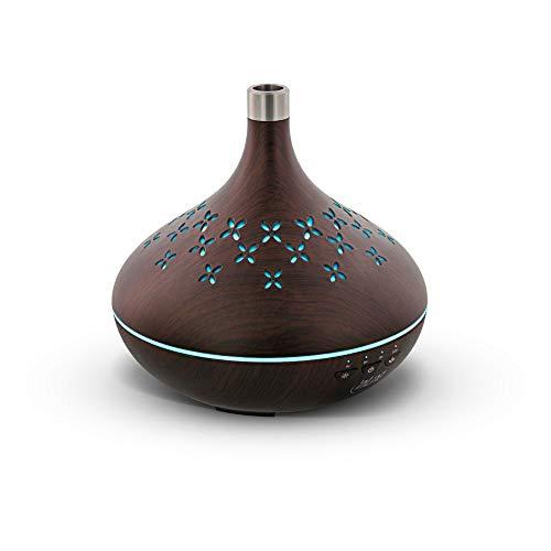 InLine 40154 SmartHome Ultraschall Aroma Diffusor, Luftbefeuchter, Ambientelicht, Google Home und Amazon Alexa kompatibel