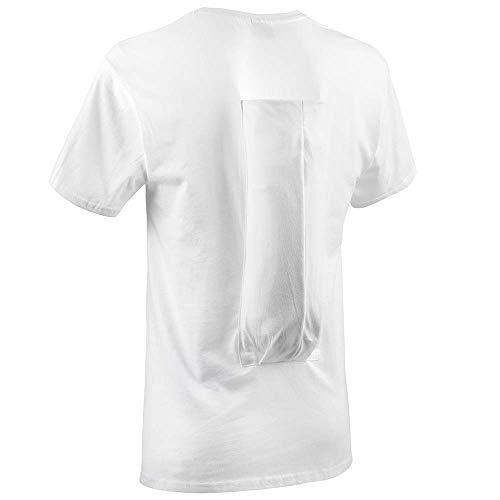 SomnoShirt Standard Anti-Schnarch-Shirt - mit Hartschaumrolle - effektiv & robust (SomniShop-Set) (L)