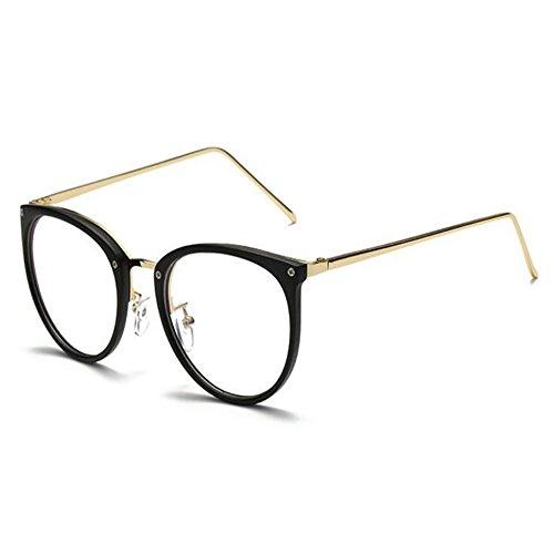 Hzjundasi Blaufilterbrille Blaulicht Brillen UV400 Schutzbrille Computerbrille Gaming Überziehbrille Katzenauge Brillenträger Fit-over Brille