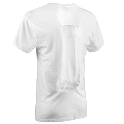 SomnoShirt Comfort Anti-Schnarch-Shirt - mit Luftkissen - bequem & effektiv (SomniShop Set) (XL)