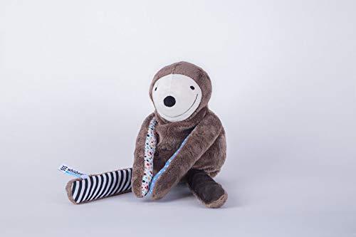 Whisbear E-zzy - das intelligente Faultier inklusive App zur Schlafüberwachung des Babys (Schlafsensor, Cryalert für Eltern)