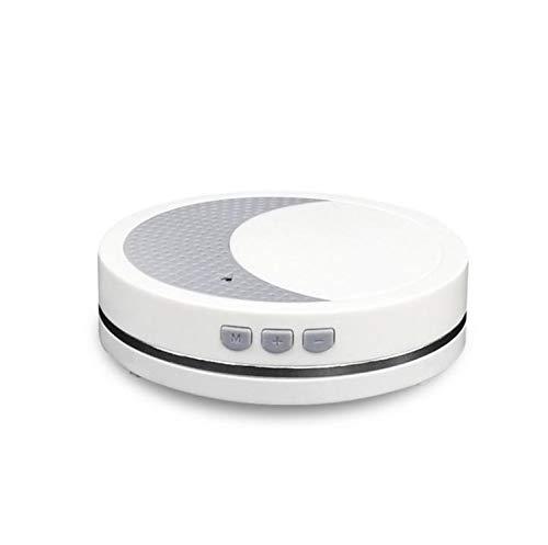 Weiße Geräuschmaschine, tragbare Schlafklangmaschine, 2 natürliche Klänge, Therapie für Schlafen, Kinderzimmer, Büro, Reisen, mit Nachtlicht für Babys und Kinder