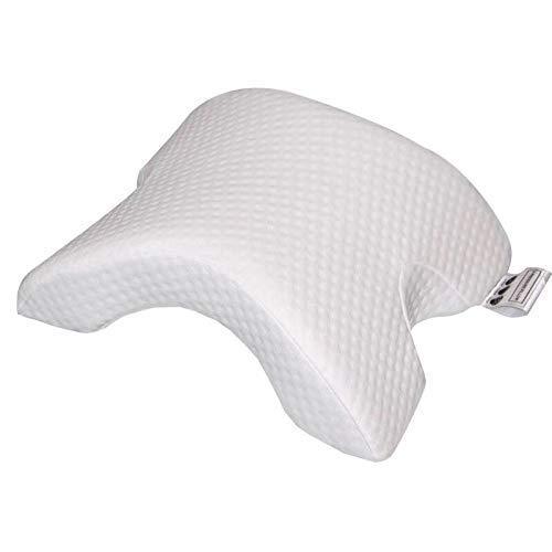 Memory Foam Kissen Bogen U-förmig Neck Pillow, Kopfkissen Ice Silk für Schutz der Hand und Nacken