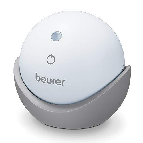 Beurer SL 10 DreamLight Einschlafhilfe mit Licht zur Unterstützung eines bewussten Atemrhythmus für schnelles und leichtes Einschlafen, 2 einstellbare Atemtechniken und Abschaltautomatik