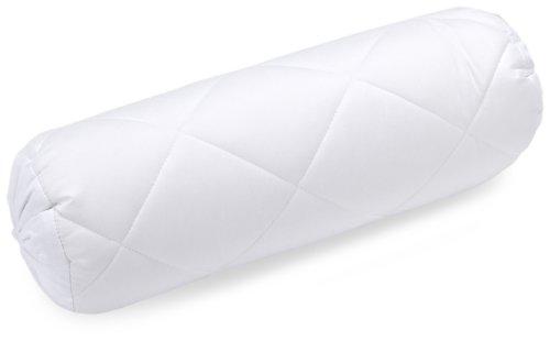 Billerbeck Faser-Nackenrolle Classic-Clean 40 x 15 cm mittlere Stützkraft, Allergiker geeignet, 95 °C