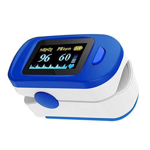 ViATOM Fingerspitzen-Pulsoximeter, Schlaf-Monitor, Sp-O2 und Herzfrequenz-Monitor für Erwachsene und Kinder,Sauerstoffsättigung Finger-Monitor mit Halsgurt und Batterien