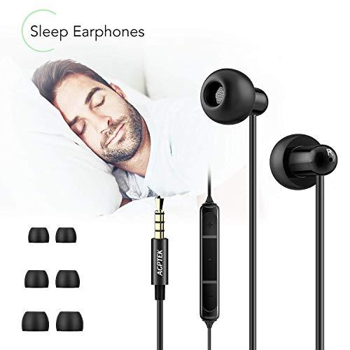 AGPTEK Kopfhörer, Schlaf-Kopfhörer für Schlafen, Sport, Reisen, Meditation, Entspannung und Relief von Schlaflosigkeit