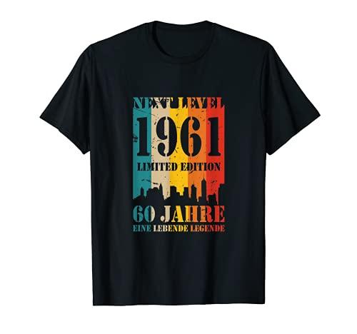 60 Jahre Geburtstag 1961 Next Level Lebende Birthday T-Shirt