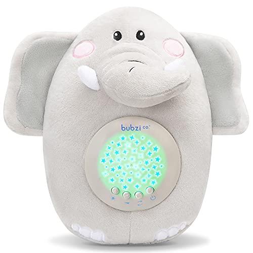 Spieluhr Baby Schrei-aktivierter Sensor Weisses Rauschen Spielzeug-Einschlafhilfe Babys-Elefant Sound machine-Kleinkind Schlafhilfe Baby Nachtlicht -Einzigartiges Baby Geschenk-Kinderwagen Spielzeug