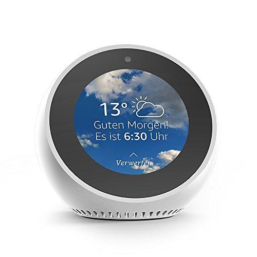 Amazon Echo Spot, Smarter Wecker mit Alexa - Weiß