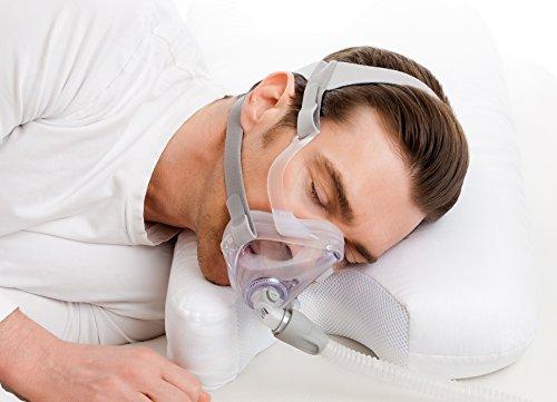 Best in Rest Memory Foam, Gedächtnisschaum, Memory Schaum, CPAP Kissen mit Grüntee-Duft (mittlere Festigkeit, einstellbare Dicke)