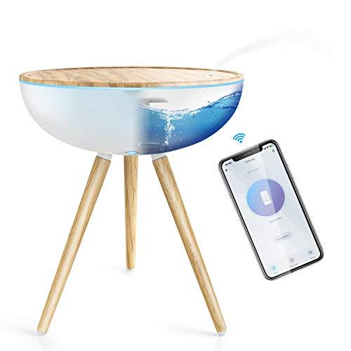 Smart Aroma Diffuser 1000ML, Maxcio Öle WLAN Duft Diffuser Ultraschall Humidifier, Kompatibel mit Alexa und Google Home, APP Steuerbar, Timer / 3 Modus für Schlafzimmer, Wohnung, Büro usw.