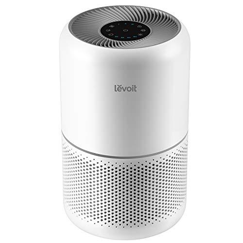 Levoit Luftreiniger H13 HEPA Luftfilter für Allergiker, Air Purifier gegen 99,97% von Pollen Staub Rauch, CADR 187m³/h, bis zu 40㎡,4 Lüfterstufen Timer leiser Schlafmodus für Rauchzimmer, Core 300