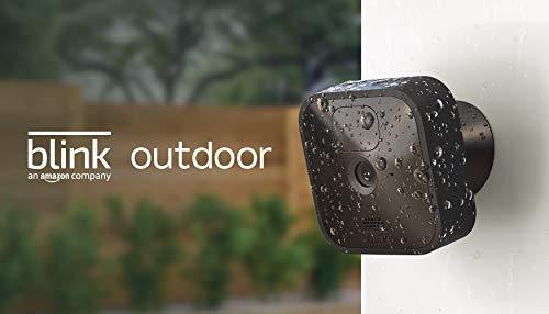 Blink Outdoor – kabellose, witterungsbeständige HD-Sicherheitskamera mit zwei Jahren Batterielaufzeit und Bewegungserfassung  1 Kamera