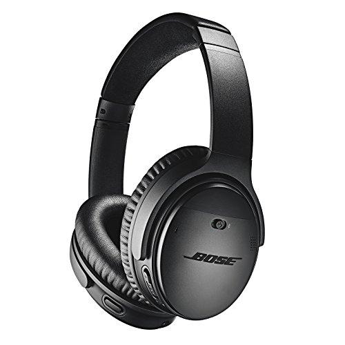 Bose QuietComfort 35 Wireless Headphones II – Kabellose Noise-Cancelling-Kopfhörer mit Bluetooth im Over-Ear-Design mit Integriertem Mikrofon und Alexa-Sprachsteuerung, Schwarz
