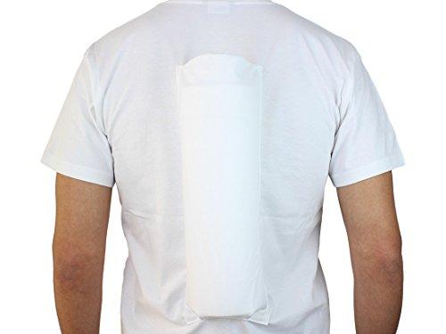 Comfort Anti-Schnarch-Shirt zur Verhinderung der Rückenlage im Schlaf. (Größe XL / 54) im FlexPoint Set mit Schlaftipp ABC