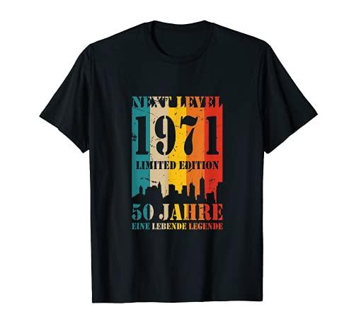 50 Jahre Geburtstag 1971 Next Level Legende Birthday T-Shirt