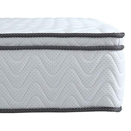 Arensberger ® Viktoria Taschenfederkern Matratze, 180 x 200 x 25 cm, mit integriertem Topper