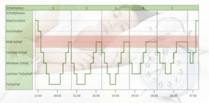 schlafzyklus schlafphasen rem-phase