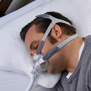 Nachtwaechter Kissen LINA CPAP Maske Nackenkissen 300